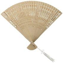 Fashioncraft 6203 Sandalwood Fan Favors - $7.92