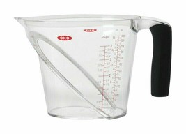 OXO Good Grips ANGLED MEASURING CUP Clear Plastic 4Cup Capacity BPA Free... - €14,24 EUR