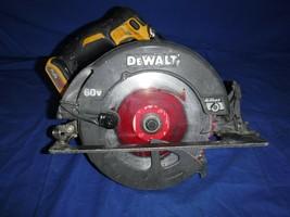 "DeWALT FLEXVOLT DCS575 60V MAX BRUSHLESS 7-1/4"" Circular Saw (tool only) - $123.74"