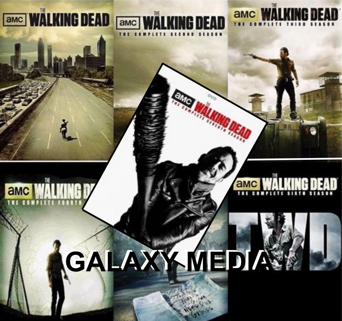 Walking dead season 1 7 dvd