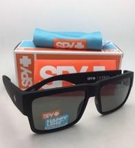 Polarizado Spy Optic Gafas de Sol Cyrus Suave Negro Mate Marco con / Hap... - $158.86