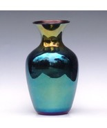 Irridescent Lead Lustre Vase by Imperial Art Glass Co Circa 1925 Luster - $96.74