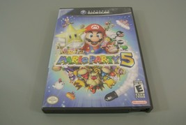 Mario Party 5 (GameCube, 2003) NO DISC case and manual only - $29.02