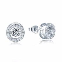 1.50 Carats Dancing Diamond Halo Style Earrings - $149.00