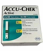 Accu Chek Active 500 Test Strips ,Exp September 2020 - $120.15