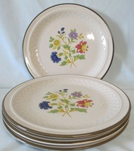 J.C. Penny Wild Flower Dinner Plate set of 4 - $28.60