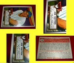 1952 Topps joe Hatten Card # 194  Beautiful Baseball Card Over 60 Years Old - $88.11