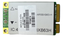 Genuine HP 459339 001 412766 002 Mini PCI  WIFI 4104A ARBX63H Laptop Card - $18.90