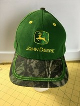 Caps Hats Snap-backs Ball Cap John Deere Green and Camouflage Camo Hat Cap - $18.57