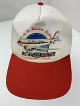 DC-3 Skyliner Anchorage Alaska Airplane Snapback Adult Cap Hat - $24.74