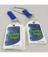 Accu-Chek Buddy Tags Lot of 49 with key rings  FREE SHIPPING Carabiner - $11.26