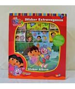 Vtg Dora the Explorer Sticker Extravaganza SandyLIon 2002 Nick Jr.200+ S... - $59.39
