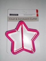 COOKING CONCEPTS CRUST & SANDWICK CUTTER STAR SHAPE NEW - ₨389.65 INR