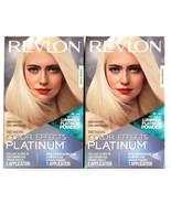 2 Revlon Color Effects Platinum Light Blonde To Light Brown Hair Permane... - $25.99