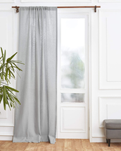 Solino Home 100% Pure Linen Curtain – 52 X 120 Inch Soft Grey Lightweigh... - $115.88
