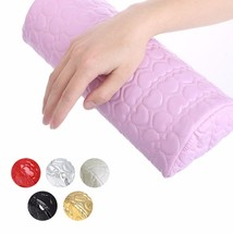 Nail Art Pillow for Manicure Hand Arm Rest Pillow Cushion PU Leather Hol... - $5.55