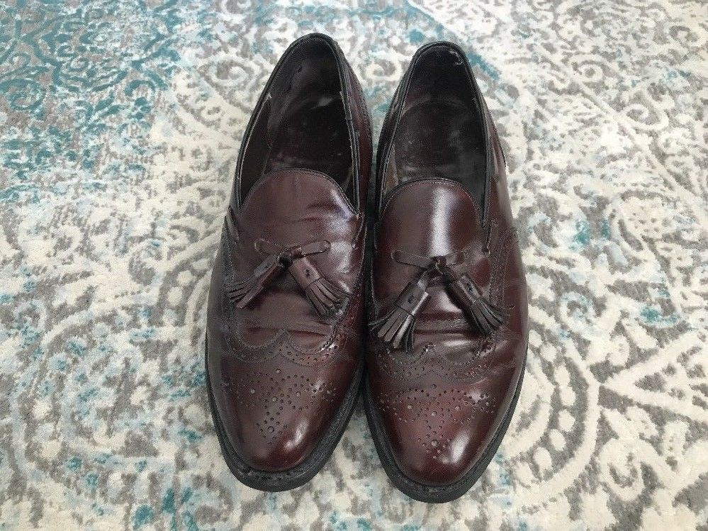 27b480b7ac6 Johnston Murphy Wingtip Tassel Loafers Size and 50 similar items. S l1600