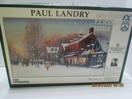 "Jigsaw Puzzle Paul Landrey 1,000 ""THE TOYMAKER""  Schmid - $9.90"