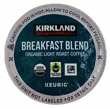 New Kirkland Breakfast Blend Light Roast Coffee Keurig 12, 24, 36, 72 K-Cup Pods