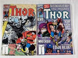 2 Thor Comic Books #376 Feb 1987 #426 Nov 1990 - $15.00