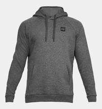 Under Armour Men's Rival Fleece Pullover Hoodie NEW AUTHENTIC DK Grey132... - $39.99