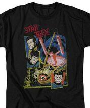 Star Trek t-shirt original cast series anime sci-fi graphic tee CBS1158 image 3