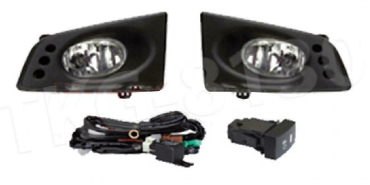 Spot Fog light Lamp Kit FOR HONDA FIT JAZZ 2008 2009 2010 2011 2012 2013 - $104.60