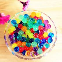 500Pcs Water Plant Flower Jelly Crystal Soil Mud Water Pearls Gel Beads Balls - $8.24