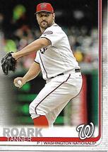 Baseball Card- Tanner Roark 2019 Topps #301 - $1.00