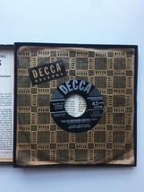Vintage 1949 Decca 45rpm Twas the Night Before Christmas Record Set image 7