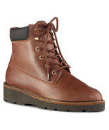 NEW COUGAR BROWN WATERPROOF LEATHER COMFORT BOOTS SIZE 9 M $150 - $66.49