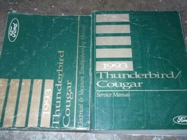 1993 Ford Thunderbird & Mercury Cougar Repair Shop Service Manual Set W ... - $80.20
