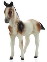 Hagen-Renaker Miniature Ceramic Horse Figurine Calico Colt Standing