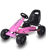 Pedal Car,Pedal Go Kart,Ride On Toy with Clutch for Boys & Girls, Brake,... - $99.94