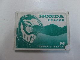 1996 Honda XR400R Owners Shop Manual Worn Stained Factory Oem Book 96 Deal *** - $23.72