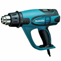Makita HG6500 Heat Gun 220V , 2000W , 60Hz 4 Nozzle with LCD Display Soft Grip image 2