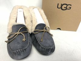 UGG Australia ALENA Nightfall SHEEPSKIN CUFF MOCCASIN SLIPPERS 1004806 womens image 5