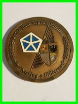 Authentic U.S. Army 417th Base Support Battalion Challenge Coin ~ Numbered Coin  - $24.24