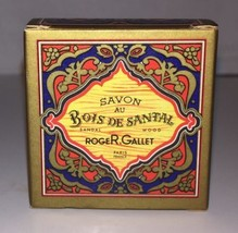 VTG ROGER & GALLET Bois De Santal SANDAL WOOD Travel Soap IN BOX Paras F... - $13.98