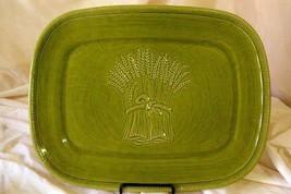 """Franciscan Wheat Winter Green 15 3/8"""" Rectangular Platter - $34.64"""