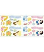 Disney Princess Self Stick Removable Appliques Wallies Stickers Snow Whi... - $13.99