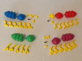 Cootie Board Game Replacement Parts Pieces Bug Legs Arms Antenna Eyes Mouth - $4.99