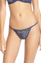 L'Agent by Agent Provocateur 'Saskiia Trixie' G-String in Violet, Large - $24.74