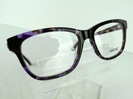 Nine West NW 5074 (518) Purple Tortoise 53 x 16 135 mm Eyeglass Frames - $54.66