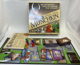 Steve Jackson Munchkin Deluxe Card Game Complete 1483 - $17.09