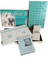 1957 Leister Game Co Bride Bingo Unused with Original Box NEW OLD STOCK ... - $16.95
