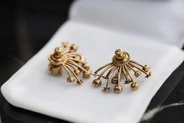 SALE* NEW AUTH Christian Dior 2019 CD DIORAINBOW CRYSTAL LOGO STAR Earrings image 6