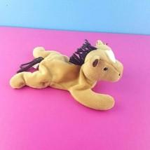 Ty Beanie Babies Derby the Horse 1995 Bean Bag Plush Pony  - $6.93