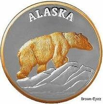 Alaska Mint POLAR BEAR Silver Medallion Proof 1Oz - $127.70