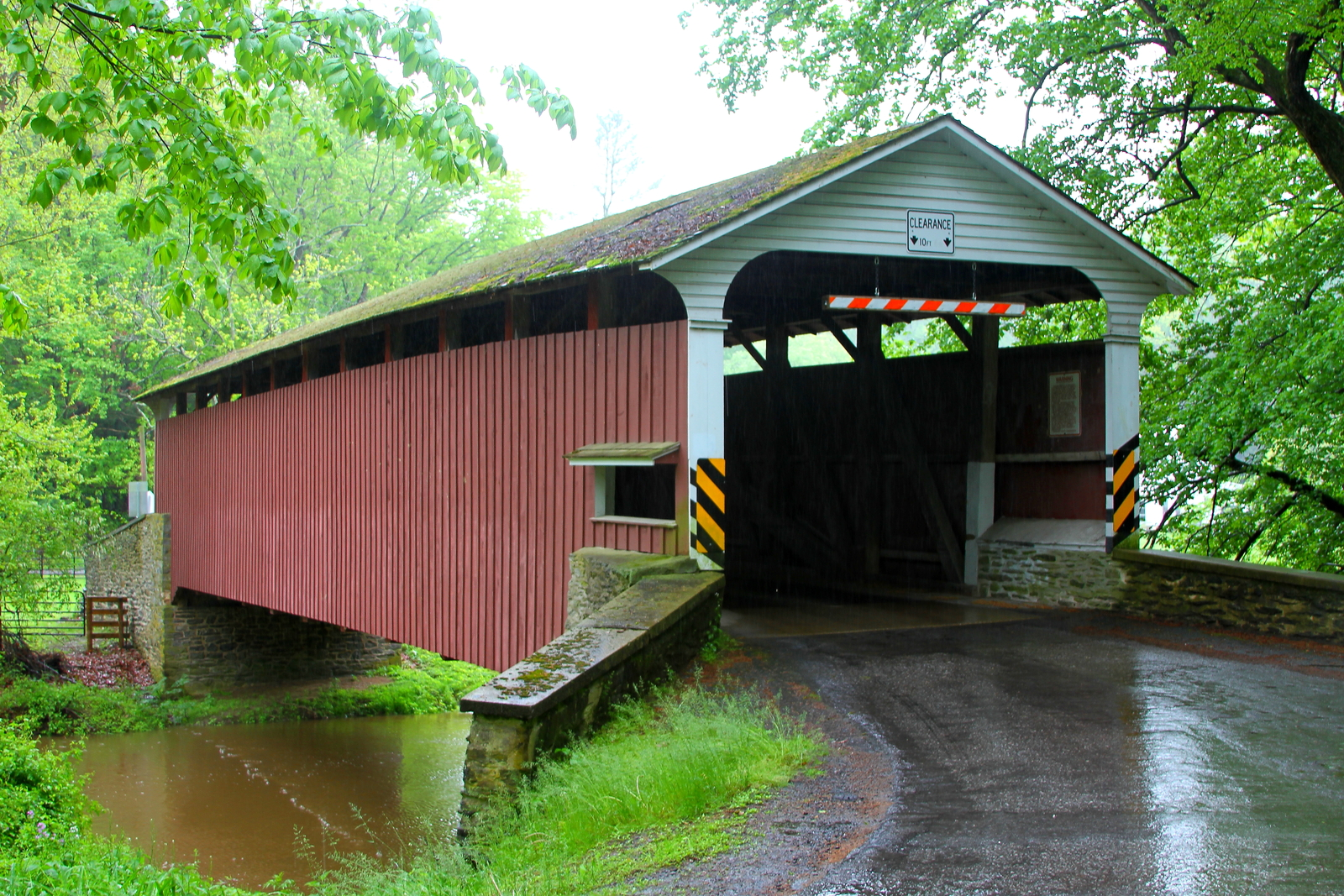 White Rock Forge Covered Bridge 13 x 19 Unmatted Photograph